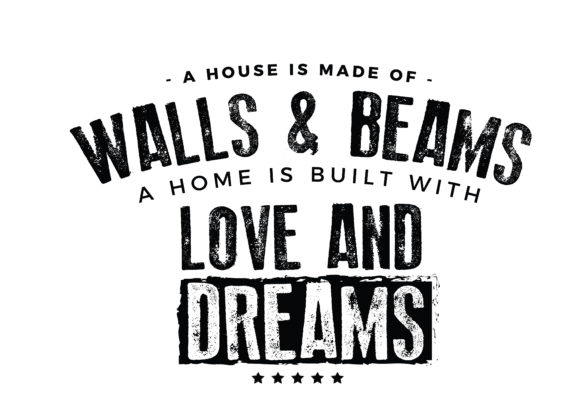 Download Free A House Is Made Of Walls And Beams Graphic By Baraeiji for Cricut Explore, Silhouette and other cutting machines.