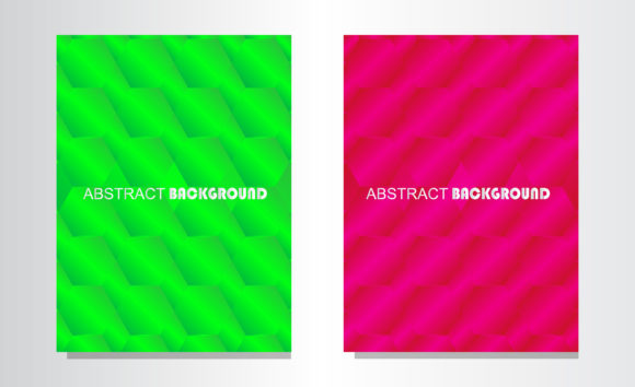 Print on Demand: Abstract Background with Color Gradation Graphic Backgrounds By Mahesa Design