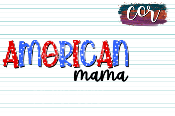 Download Free 1 American Mama Designs Graphics for Cricut Explore, Silhouette and other cutting machines.
