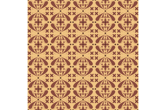 Beautiful Batik Pattern Graphic Backgrounds By cityvector91