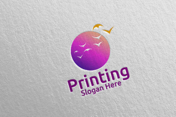 Beauty Printing Company Logo Design 29 Graphic Logos By denayunecf