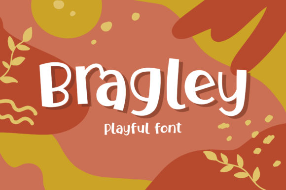 Print on Demand: Bragley Display Font By Arterfak Project