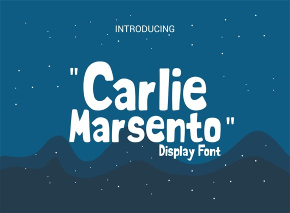 Print on Demand: Carlie Marsento Display Fuente Por adevio27
