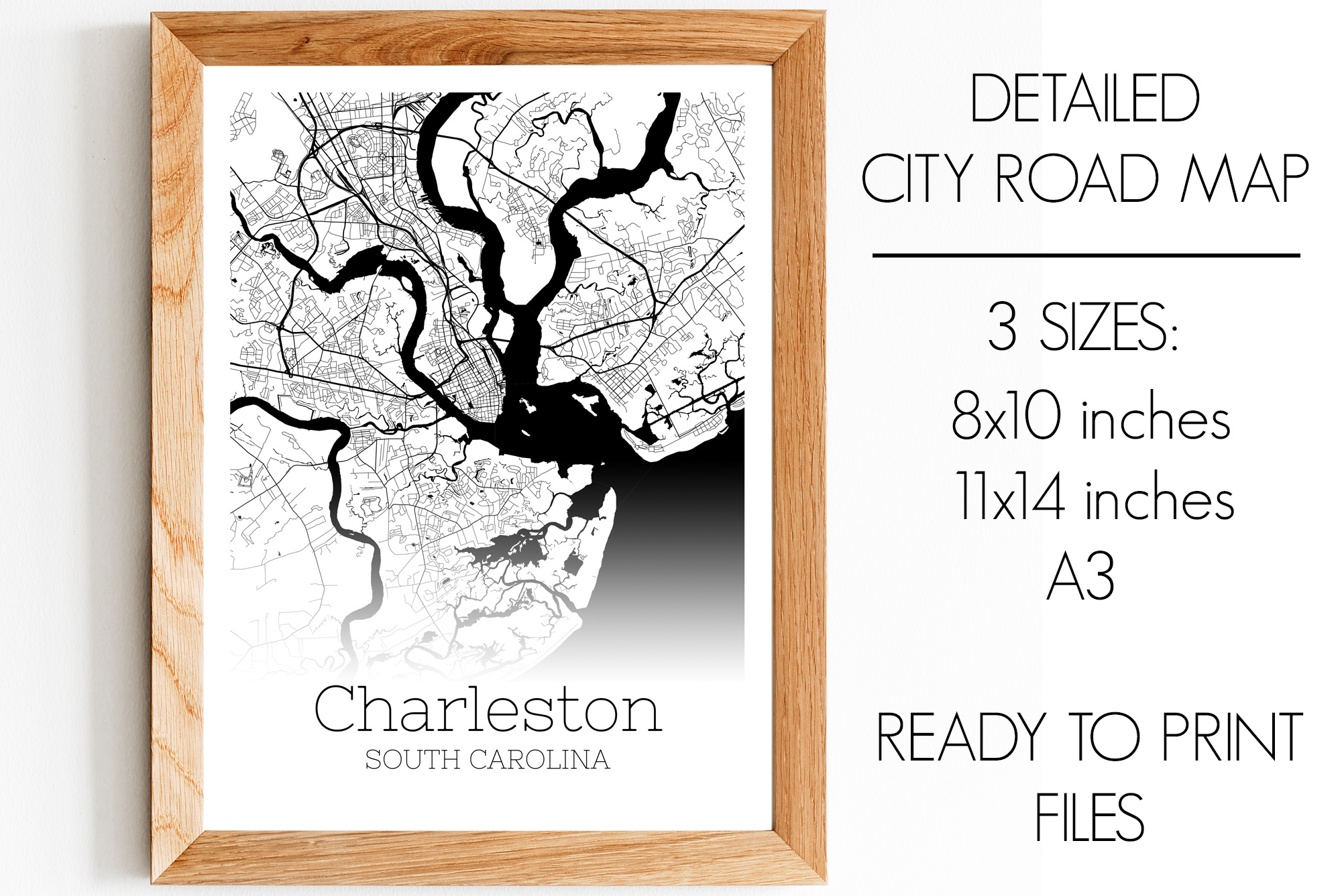 Download Free Charleston South Carolina City Map Graphic By Svgexpress for Cricut Explore, Silhouette and other cutting machines.
