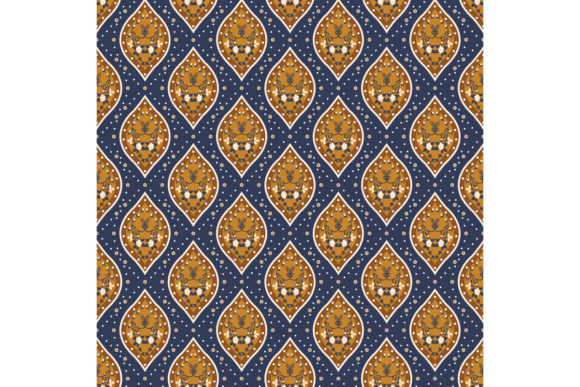 Classic Javanese Batik Graphic Backgrounds By cityvector91