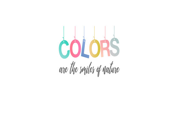 Download Free Color Motivational Quote Graphic By Shawlin Creative Fabrica for Cricut Explore, Silhouette and other cutting machines.