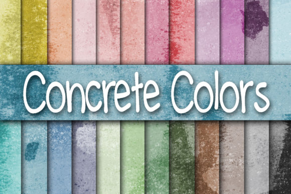 Download Free Colorful Concrete Wall Digital Paper Graphic By Oldmarketdesigns for Cricut Explore, Silhouette and other cutting machines.