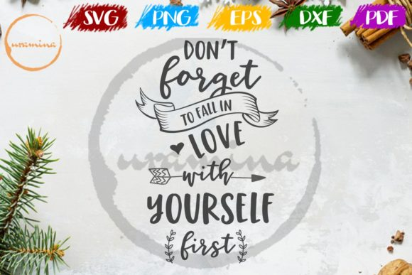Download Free Don T Forget To Fall In Love Graphic By Uramina Creative Fabrica SVG Cut Files