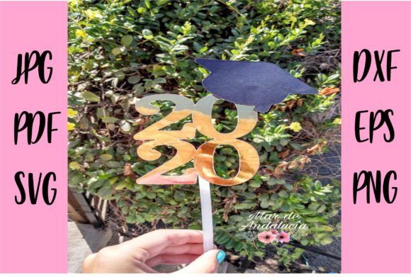 Grad 2020 Cake Topper Graphic Crafts By Mar De Andalucía