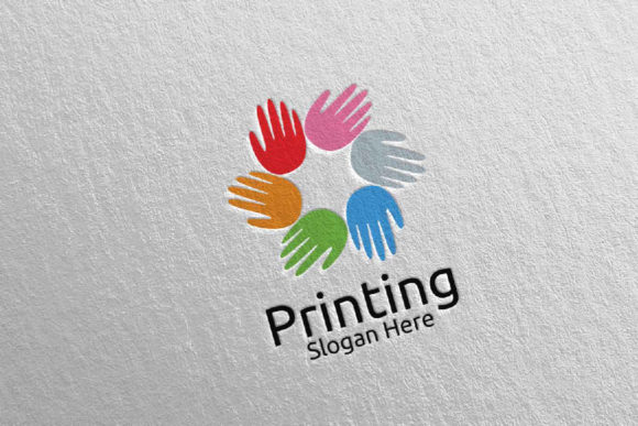 Hand Printing Company Logo Design 26 Graphic Logos By denayunecf