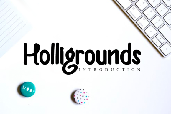 Download Free Helligrounds Font By Inermedia Studio Creative Fabrica for Cricut Explore, Silhouette and other cutting machines.