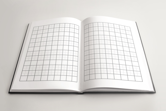 Print on Demand: Japanese Writing Book | KDP Template Graphic KDP Interiors By KDP Product - Image 3