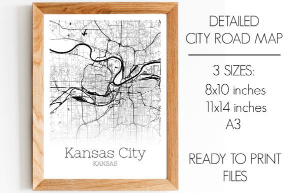 Download Free Kansas City Kansas City Map Graphic By Svgexpress Creative Fabrica for Cricut Explore, Silhouette and other cutting machines.