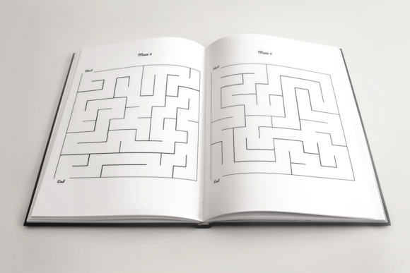 Print on Demand: Kids Maze Book | KDP Template Graphic KDP Interiors By KDP Product - Image 3