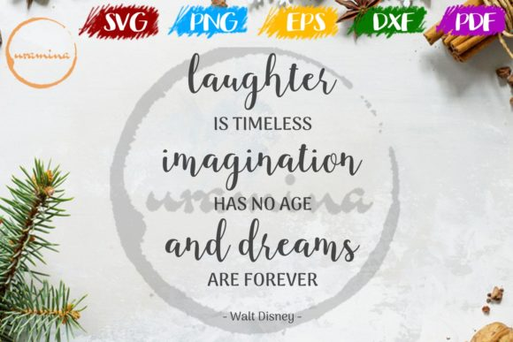 Print on Demand: Laughter is Timeless Imagination Graphic Crafts By Uramina