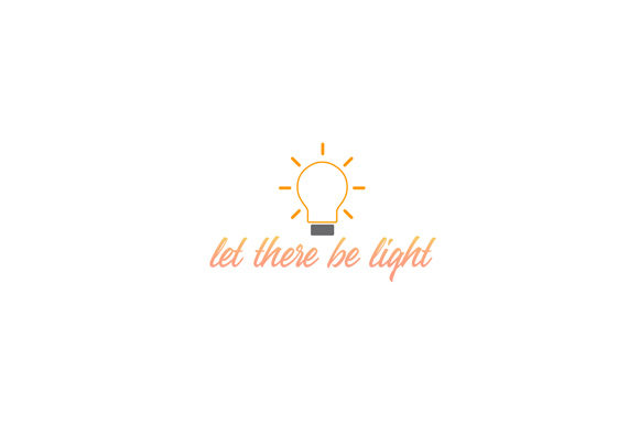 Download Free Let There Be Light Graphic By Shawlin Creative Fabrica for Cricut Explore, Silhouette and other cutting machines.
