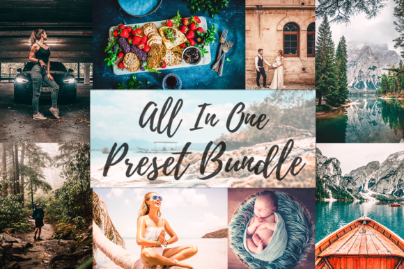 Print on Demand: Lightroom Presets - All in One Bundle  By MyBeautifulFiles