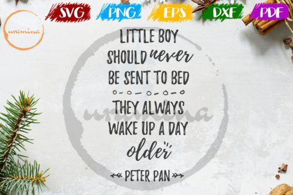 Print on Demand: Little Boy Should Never Be Sent to Bed Graphic Crafts By Uramina