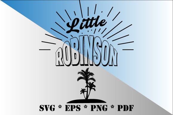 Download Free Little Robinson Graphic By Graphicsfarm Creative Fabrica for Cricut Explore, Silhouette and other cutting machines.