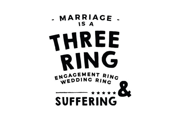 Marriage Is A Three Ring Circus Graphic By Baraeiji Creative
