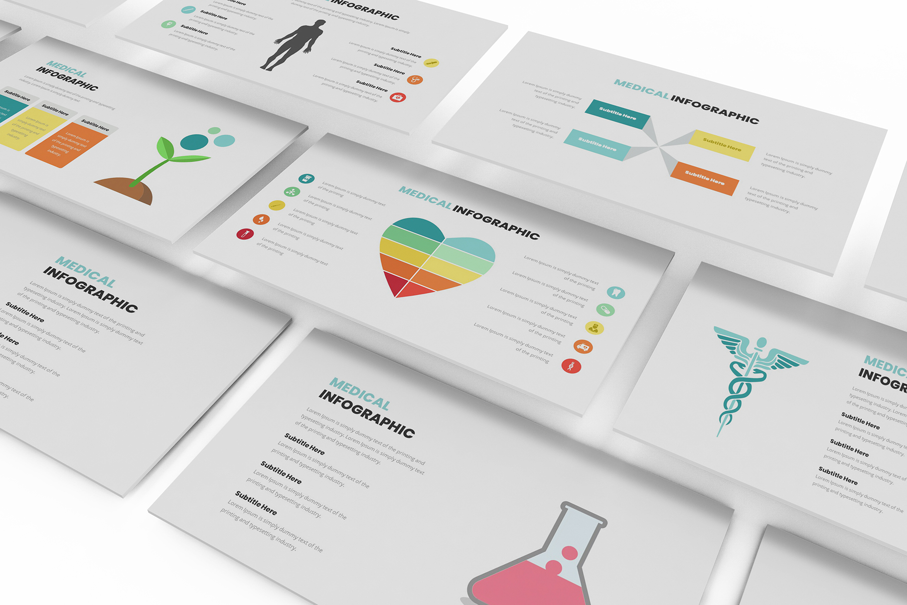 Download Free Medical Infographic Google Slides Graphic By Formatikastd for Cricut Explore, Silhouette and other cutting machines.