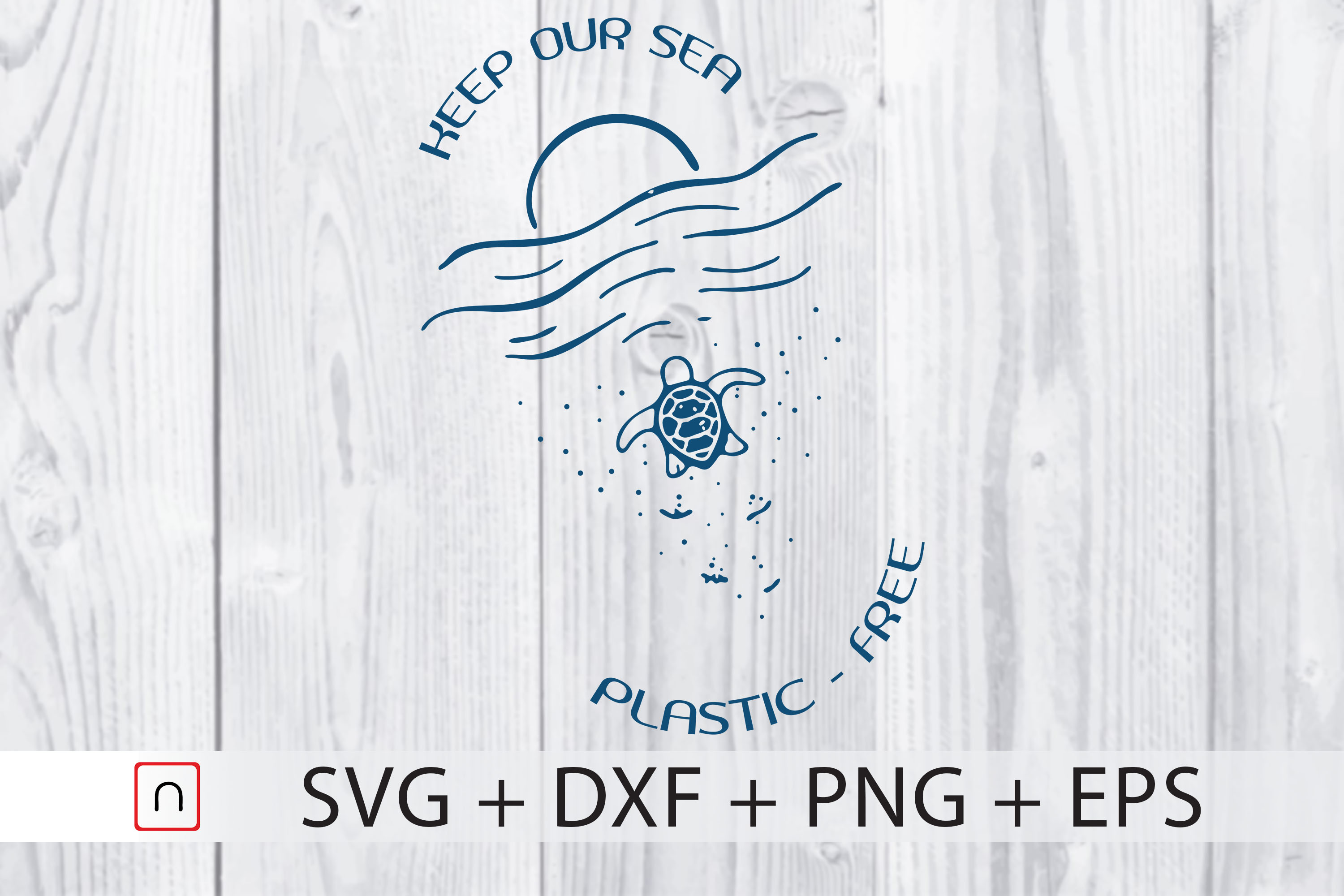 Download Free No Plastic Ocean Lover Gift Cricut Graphic By Novalia Creative for Cricut Explore, Silhouette and other cutting machines.