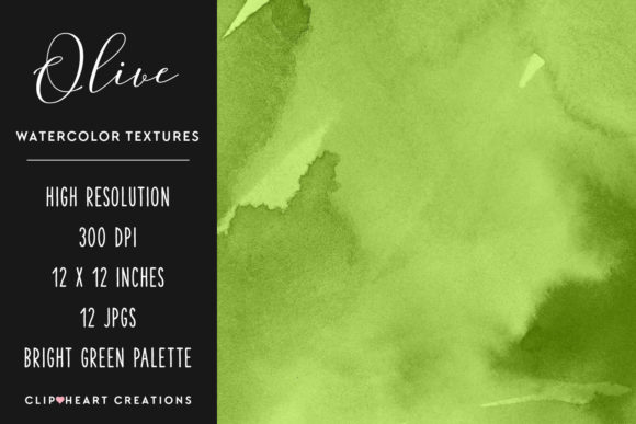 Download Free Olive Green Watercolor Papers Graphic By Clipheartcreations for Cricut Explore, Silhouette and other cutting machines.