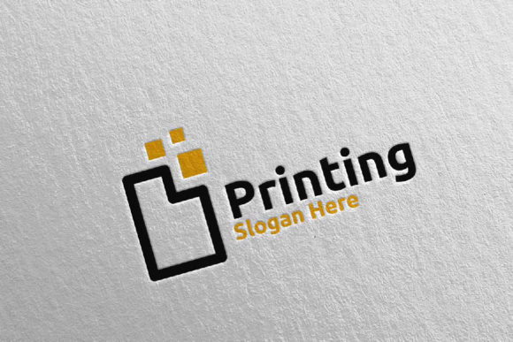 Paper Printing Company Logo Design 28 Graphic Logos By denayunecf