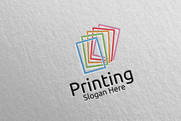 Paper Printing Company Logo Design 34 Graphic Logos By denayunecf