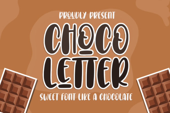 Print on Demand: Choco Letter Script & Handwritten Font By Typefar