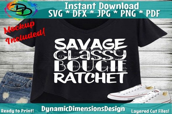 Savage Classy Bougie Ratchet Graphic Crafts By dynamicdimensions