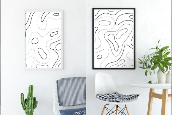 Download Free Seamless Topographic Map Graphic By Thirtypath Creative Fabrica for Cricut Explore, Silhouette and other cutting machines.