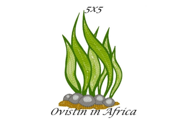 Seaweed Beach & Nautical Embroidery Design By Ovistin in Africa - Image 1