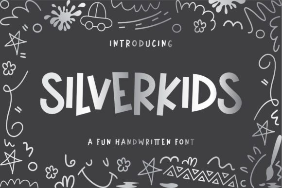 Print on Demand: Silverkids Display Font By BrandSemut