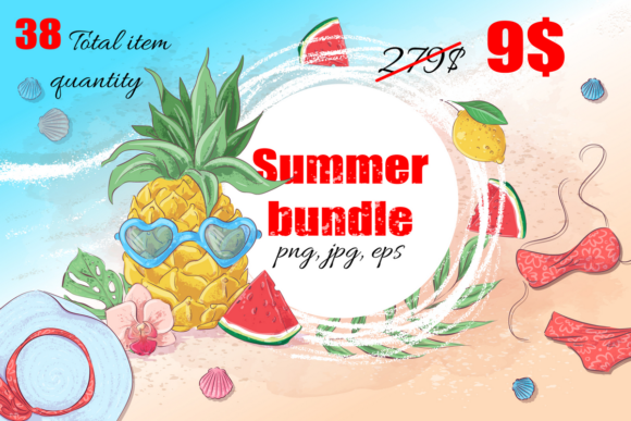 Print on Demand: Summer Bundle  By nicjulia