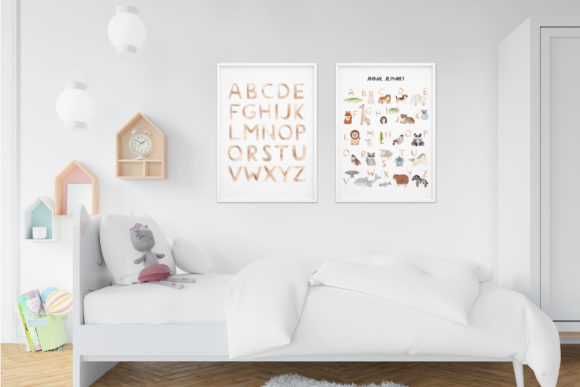 Download Free Watercolor Animal Alphabet Cliparts Graphic By Slastick for Cricut Explore, Silhouette and other cutting machines.