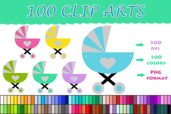 Download Free 1 Baby Carriage Clipart Designs Graphics for Cricut Explore, Silhouette and other cutting machines.