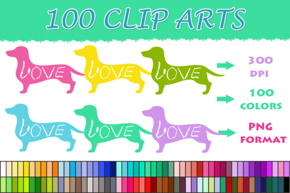 Download Free 100 Dachshund Clip Art Graphic By Sweetdesign Creative Fabrica for Cricut Explore, Silhouette and other cutting machines.