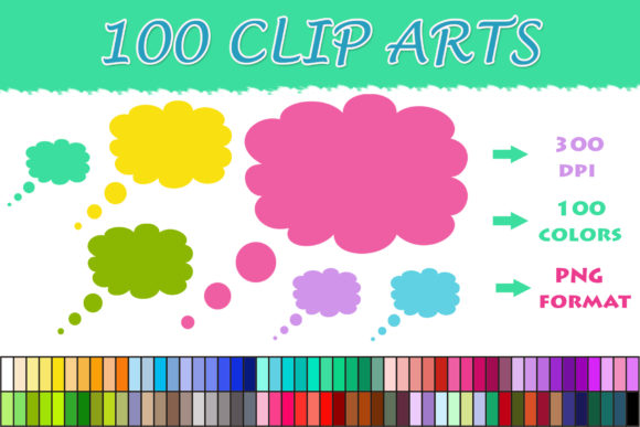 Download Free 1 Thoughts Clipart Designs Graphics for Cricut Explore, Silhouette and other cutting machines.