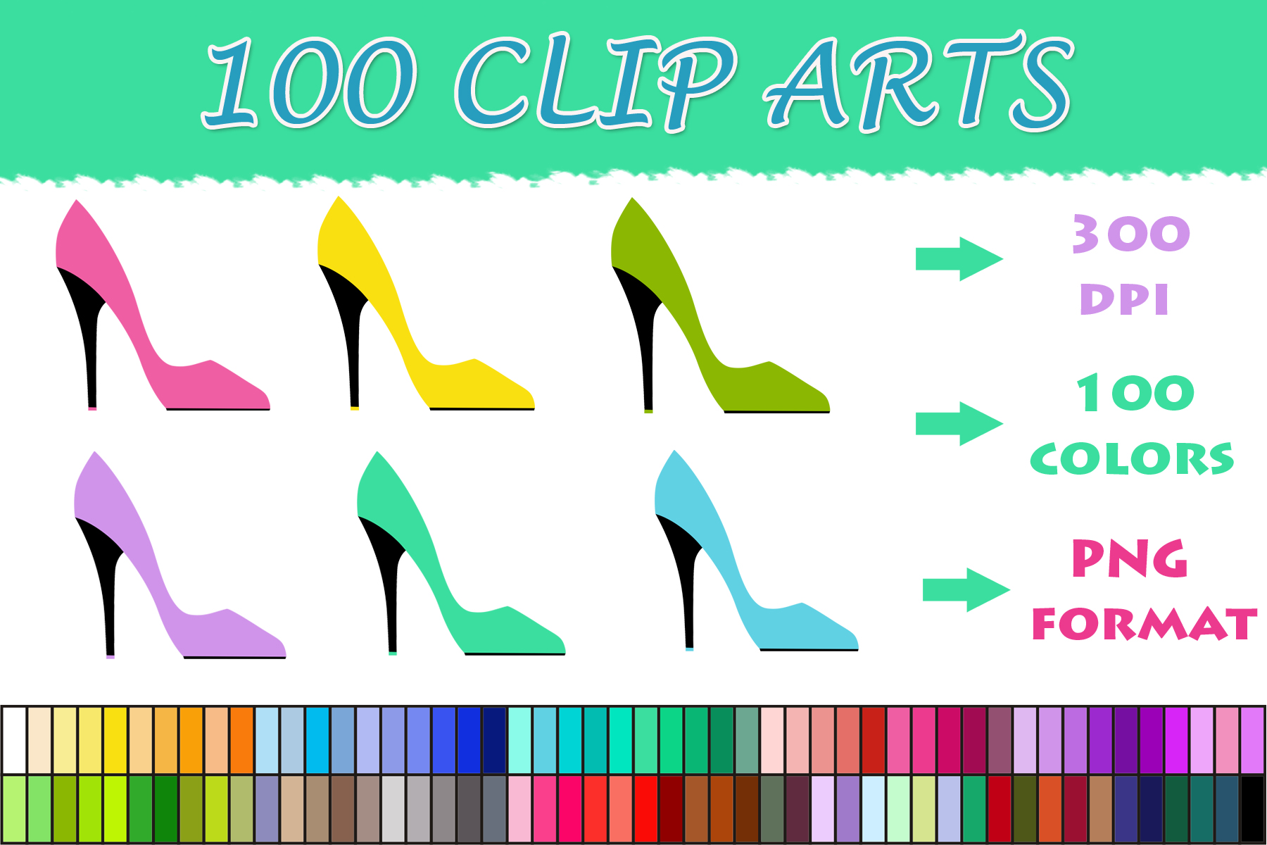 Download Free 100 Women S Shoe Clip Art Graphic By Sweetdesign Creative Fabrica for Cricut Explore, Silhouette and other cutting machines.
