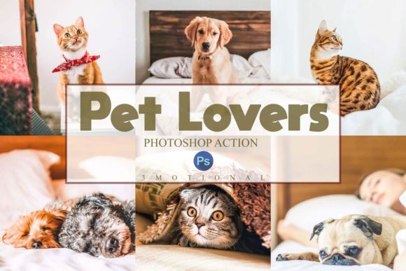 Download Free 14 Pet Lovers Photoshop Actions Acr Luts Graphic By 3motional for Cricut Explore, Silhouette and other cutting machines.