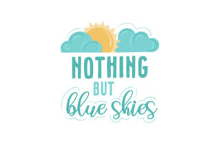 Nothing but Blue Skies Spring Craft Cut File By Creative Fabrica Crafts