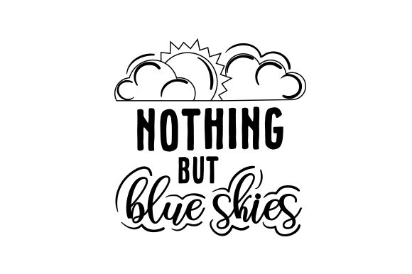 Nothing but Blue Skies Spring Craft Cut File By Creative Fabrica Crafts - Image 2