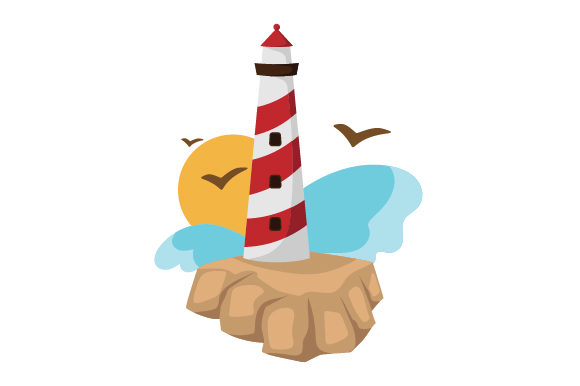 Download Free Lighthouse Svg Cut File By Creative Fabrica Crafts Creative for Cricut Explore, Silhouette and other cutting machines.