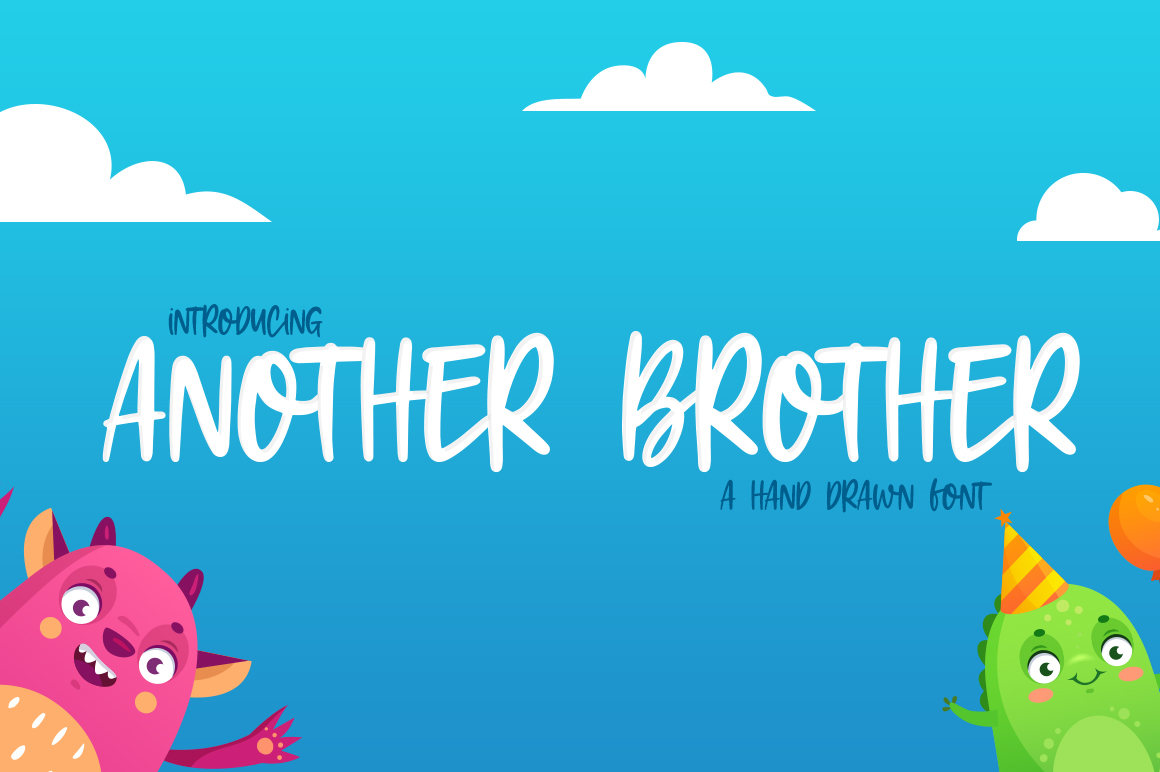 Download Free Another Brother Font By Salt Pepper Designs Creative Fabrica for Cricut Explore, Silhouette and other cutting machines.
