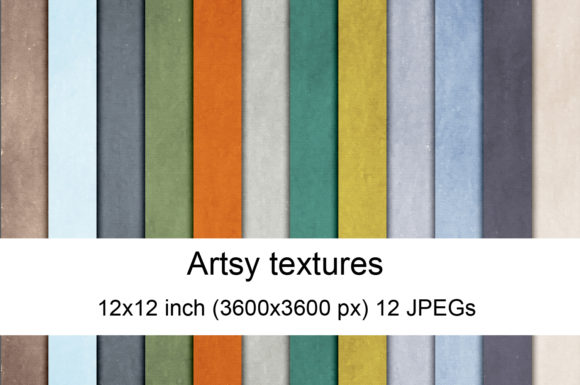 Print on Demand: Artsy Textures Graphic Textures By Andrea Kostelic