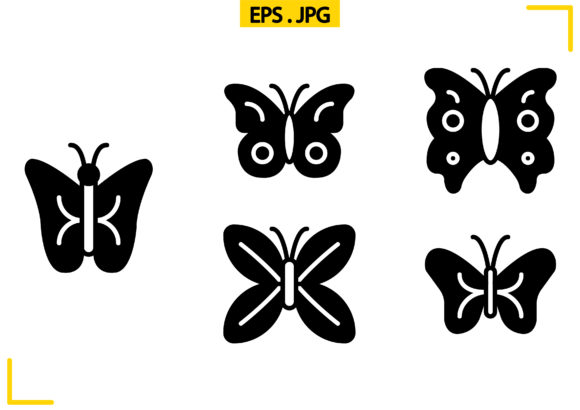 Download Free Bugs Insects Solid Graphic By Raraden655 Creative Fabrica for Cricut Explore, Silhouette and other cutting machines.