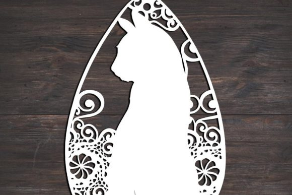 Download Free Cat Teardrop Mandala Graphic By Fortunasvg Creative Fabrica for Cricut Explore, Silhouette and other cutting machines.