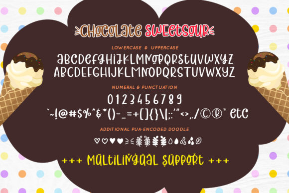 Print on Demand: Chocolate Sweetsour Script & Handwritten Font By airotype - Image 7