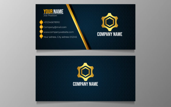 Clean And Modern Business Card Graphic By Ngabeivector
